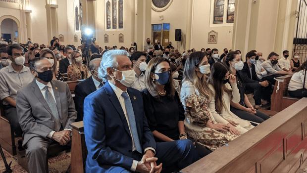 Maguito Vilela é homenageado em missa de 7º dia, na Catedral Metropolitana de Goiânia