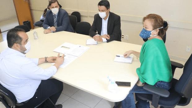 Prefeitura e MP discutem medidas para resolver problema de abastecimento de água em Senador Canedo