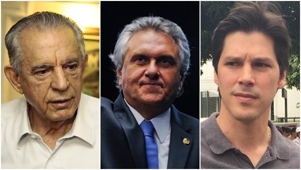 """Emedebistas """"ensaiam"""" chapa com Caiado para o governo, Daniel na vice e Iris para senador"""