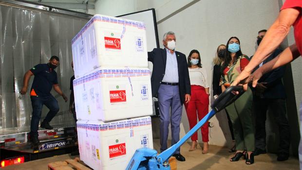 Goiás irá aplicar 68 mil novas doses de vacina contra a Covid-19