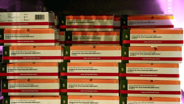 Anápolis recebe mais de 5,9 mil doses da CoronaVac