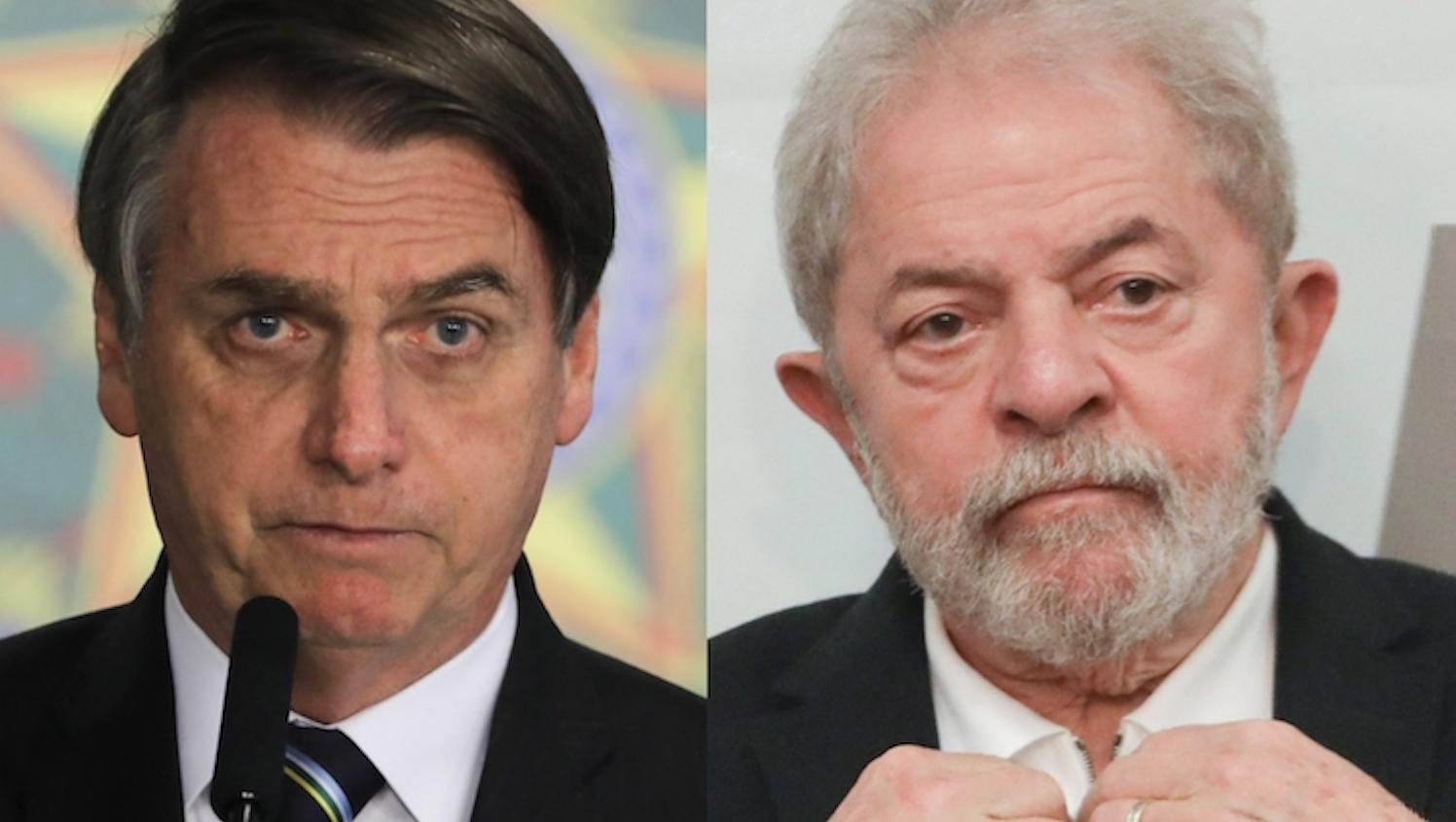 Em cenário de segundo turno Lula tem 56% contra 31% de Bolsonaro, diz pesquisa
