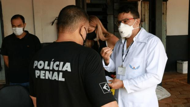 Governo de Goiás realiza ação de prevenção a doenças em agentes penitenciários