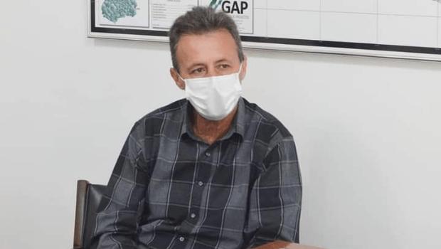 Prefeito de Ipameri testa positivo para a Covid-19