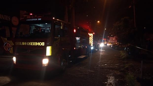 Incêndio atinge escola profissionalizante em Goiânia