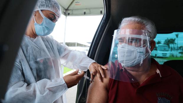 Mesmo com estoque, Aparecida interrompe vacinação contra a Covid-19