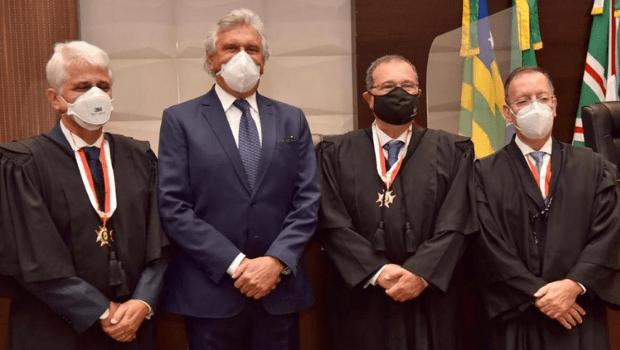 Novos desembargadores tomam posse no Tribunal de Justiça de Goiás
