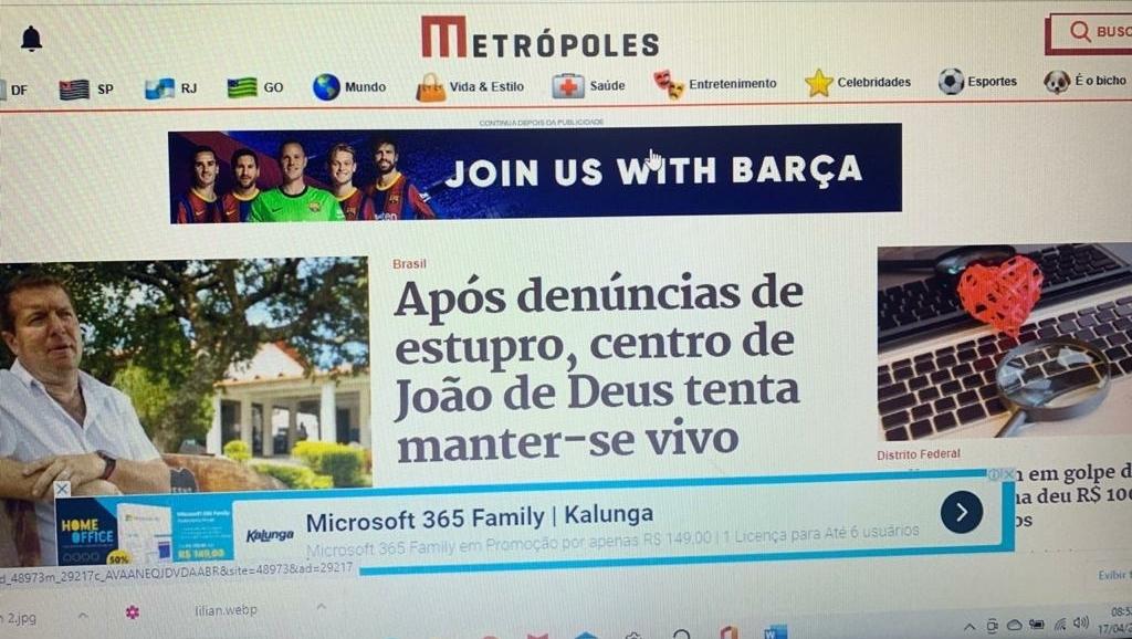 12 sites jornalísticos mais acessados de Brasília. Metrópoles supera o Correio Braziliense