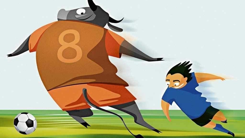 """Se a bola era feita de couro de vaca, técnico dizia que jogador deveria fazê-la """"correr na grama"""""""