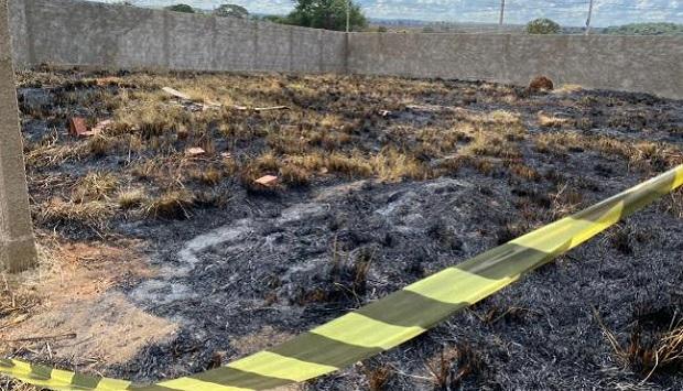Em Anápolis, corpo de bebê recém-nascido é encontrado carbonizado e suspeito é preso