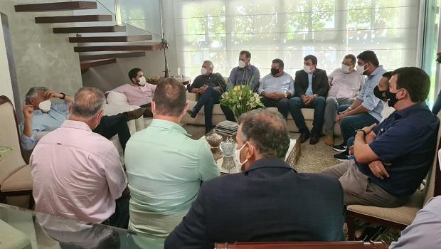 Governador Ronaldo Caiado se reúne com prefeitos da região do Vale do São Patrício
