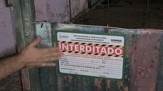 Fiscalização encerra festa com 350 pessoas em Aparecida de Goiânia