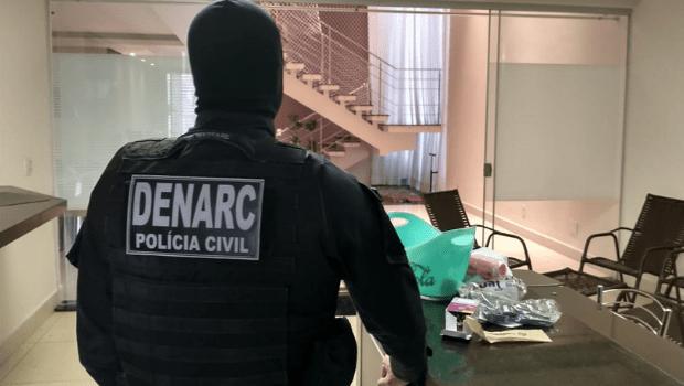 PC desarticula quadrilha que fazia tráfico de drogas e lavagem de dinheiro em Goiânia, Trindade e Novo Gama