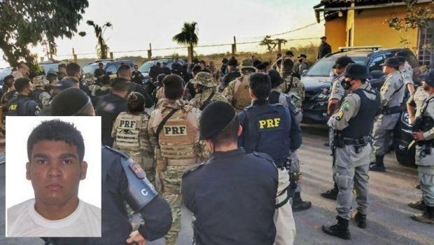 Polícia fecha cerco, mas não consegue prender Lázaro, que sequestrou família e trocou tiros com moradores nesta terça