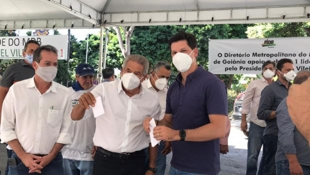 """Daniel Vilela diz que MDB não foi notificado sobre suspensão da eleição: """"Nos causa estranheza"""""""