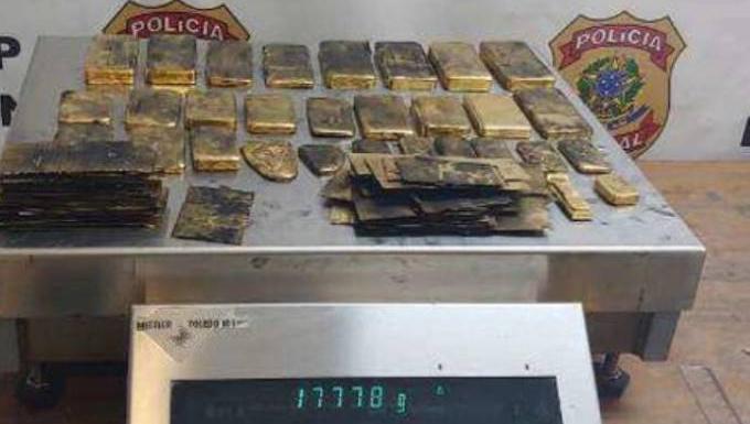 Quadrilha que contrabandeou uma tonelada de ouro para a Europa é presa pela Polícia Federal