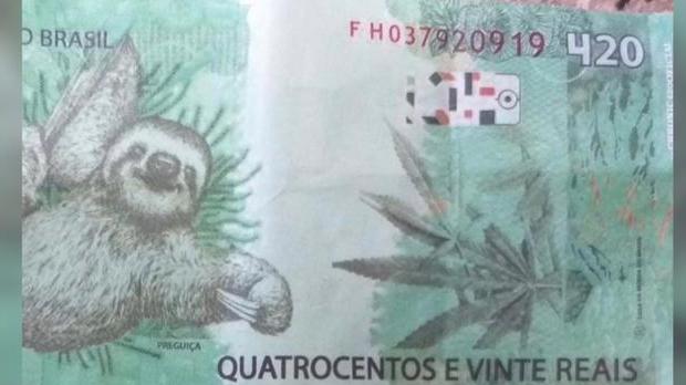 Idoso aceita nota de 420 reais – e dá troco de R$ 320 ao golpista