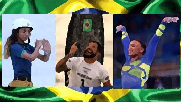 Rayssa, Ítalo e Rebeca mostram ao mundo que o Brasil é muito mais que Bolsonaro