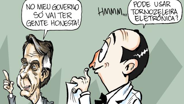 """Famoso personagem de Péricles, o Amigo da Onça """"encarnou"""" em Bolsonaro?"""
