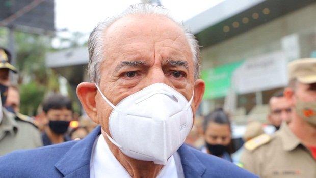 Quadro de saúde de Iris Rezende permanece em estado regular