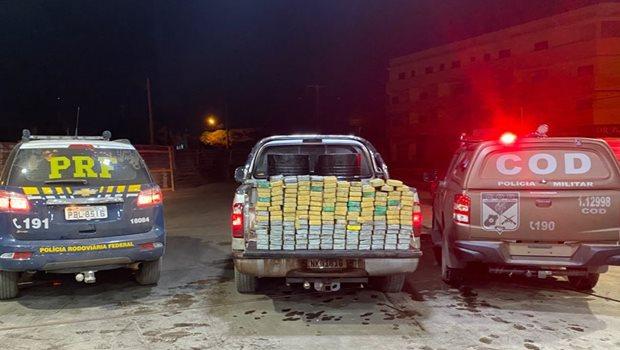 Polícia apreende 200kg de pasta base de cocaína em Goiás