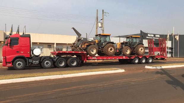 DERCR deflagra Operação 452 e consegue recuperar mais de R$ 1 milhão em maquinário