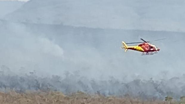 Chuva controla incêndios na Chapada dos Veadeiros