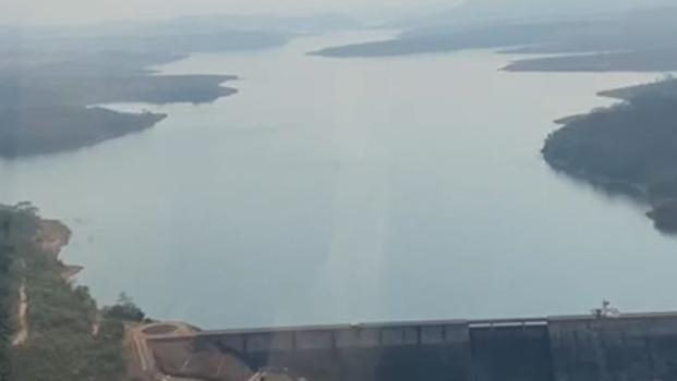 Caiado realiza vistoria em barragem do João Leite que tem capacidade de mais de 80% para abastecimento da Grande Goiânia