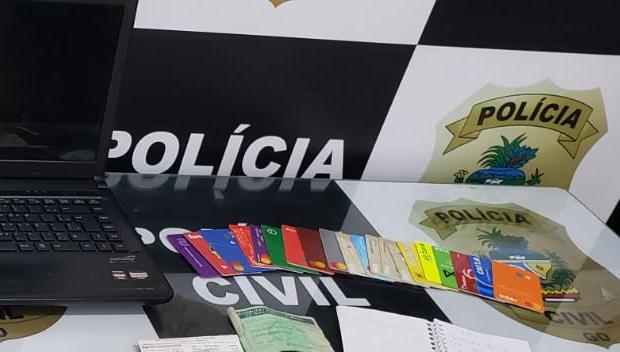 Operação da PC prende casal suspeito de integrar organização criminosa que praticava golpes contra idosos