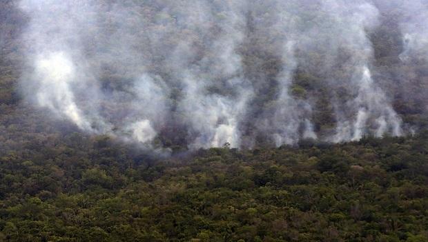 Chuva ameniza incêndios na Chapada; bombeiros seguem monitoramento da área