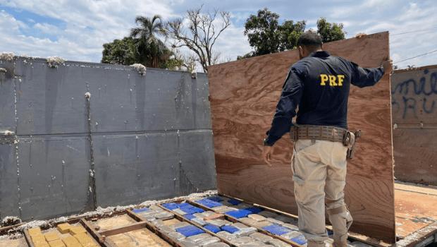 Mais de R$15 milhões em cocaína são apreendidos pela PRF em Jataí