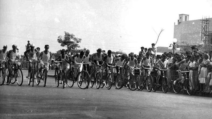 Antes da década de 1960, corrida de bicicleta movimentava o aniversário de Goiânia