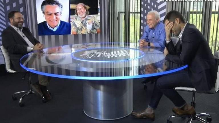 """Diogo Mainardi voltará ao """"Manhattan Connection"""""""