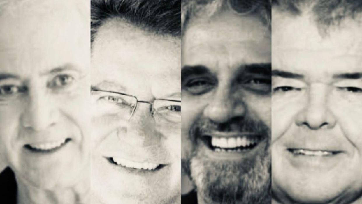 """João Caetano, Marcelo Barra, Fernando Perillo e José Eduardo """"recriaram"""" a música popular em Goiás"""