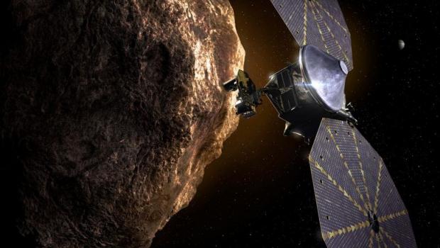 Missão lançada pela Nasa neste sábado irá explorar 'fósseis do Sistema Solar'