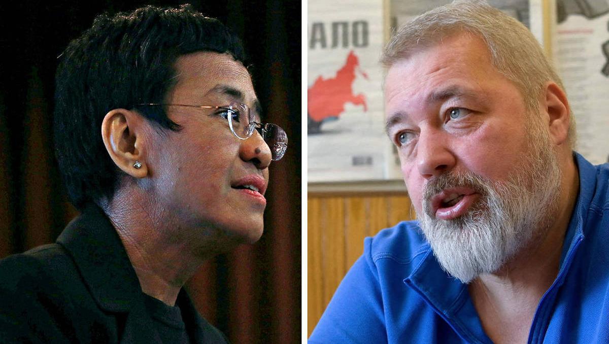 Prêmio Nobel da Paz para jornalistas é uma vitória da liberdade de expressão