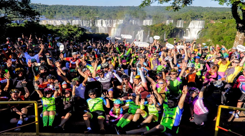 Passeio ciclístico  - CataratasDay 2019 pretende levar 10 mil pessoas ao Parque Nacional do Iguaçu