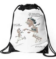 Higher Flyer Drawstring bag