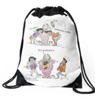 Easter Drawstring bag