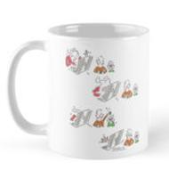 Rabbit hole mug