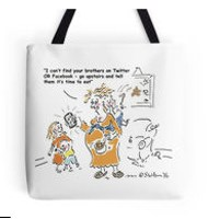 Find brothers Tote bag