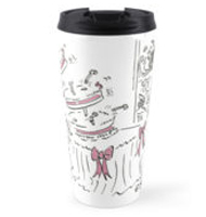 Wedding cake Travel mug