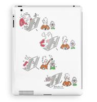 Rabbit hole iPad case