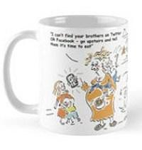 Online brothers mug