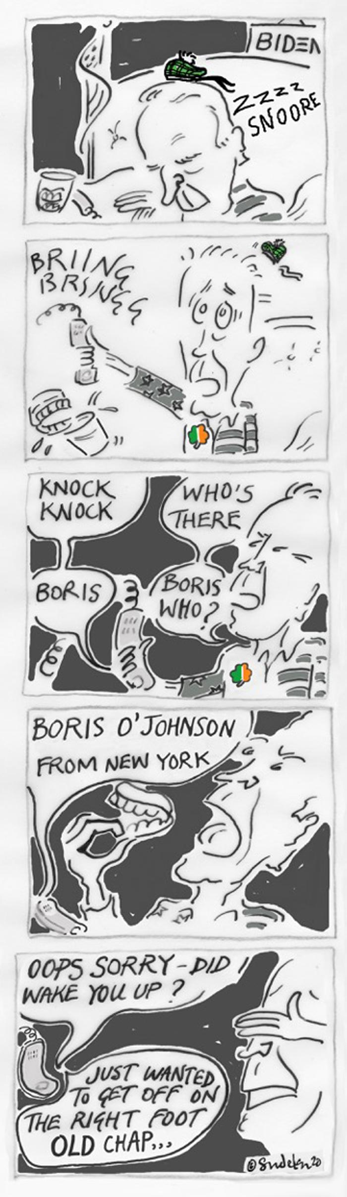 Boris Wakes Up Joe