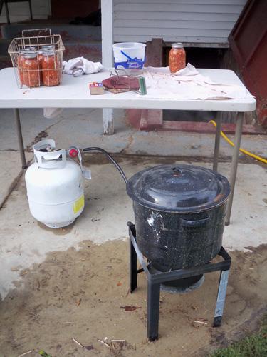 Salsa-cooker