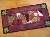 Quilts of 2009 for 120 table runner christmas