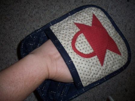 Hotpad-hand