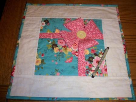 Party Guest Book Quilt With My AccuQuilt GO