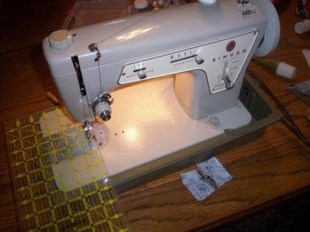 Kelli's Singer Sewing Machine Jo's Country Junction Unique How To Thread A Singer Sewing Machine Model 237